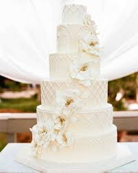 wedding cake. detailed all-white cake wedding