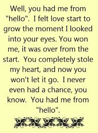 You Had Me At Hello Quote Inspiration Kenny Chesney You Had Me From Hello Song Lyrics Song Quotes