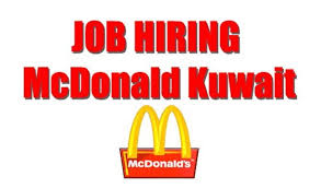 Job Hiring Mcdonald Conduct Interview In The Philippines For Kuwait