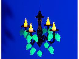 lunartec led kerzenleuchter mit totenköpfen glow in the dark lunartec