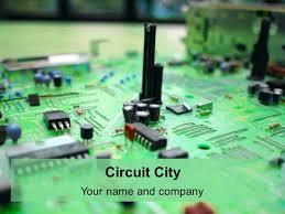 Powerpoint Circuit Theme Presentation Magazine Engineering Powerpoint Templates