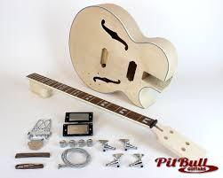 pit bull guitars es3 b4 electric bass guitar kit