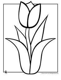 Kleurplaten Bloemen Tulpen Brekelmansadviesgroep