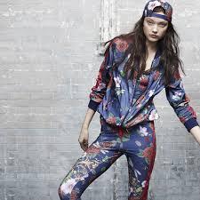 adidas women clothing. adidas - women\u0027s rita ora roses supergirl track jacket women clothing hoodies \u0026 tops s11817
