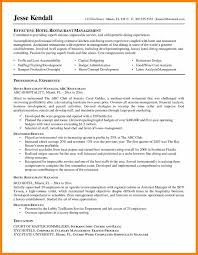 Sample Resume Of Hotel And Restaurant Management Graduate Fresh ...