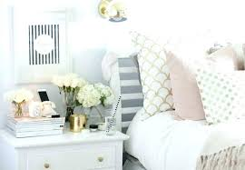 Grey And Gold Bedroom Ideas Black White With Pink Accents Room Gray ...