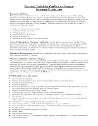 Pharmacy Tech Resume Template Magnificent Hospital Pharmacy Technician Resume Resume For Study