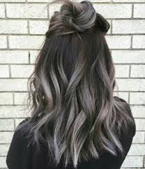 Grey Ombre I Would Do This In A Second If I Had Dark Brown Hair