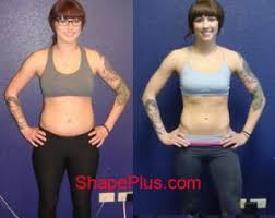 emma before and after women s strength program at shape plus
