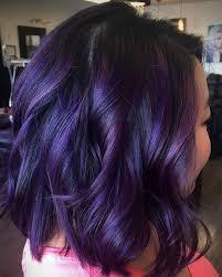 Purple Hair Colors Chart 10 Plum Hair Color Ideas For Women