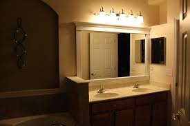 bathroom mirrors with lights above. Image Of Bathroom Lights Over Mirror Design Ideas Lighting Above. Above Mirrors With