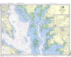Noaa Nautical Chart 12230 Chesapeake Bay Smith Point To Cove Point