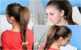 How To Make A Fluffy Fishtail Braid Zendaya S Replay