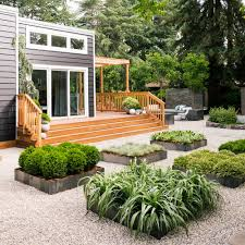 How To Design A Zen Garden Sunset Low Water Cottage Front View