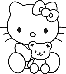 Small Picture Hello Kitty Coloring Pages Coloring Home