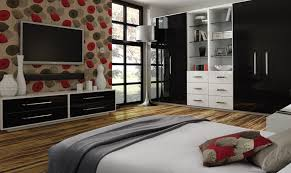 Bedroom Furniture | Black Wardrobe | BA Components
