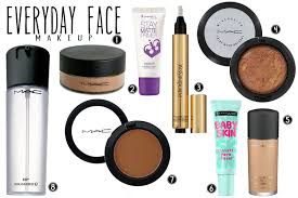 everyday makeup for dark skin