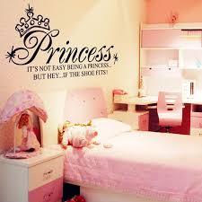 dream big princess bedroom decals 3d