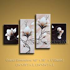 this piece is absolutely stunning and would give great ambiance anywhere it is hung large contemporary wall art fl painting tulip flower on canvas