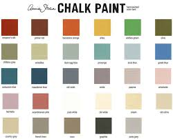 popular painted furniture colors. all of our furniture is painted using annie sloan chalk paint and waxes these paints have become very popular are named u201cchalk paintu201d for their rich colors