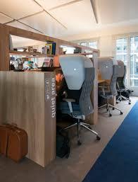 office design idea. This Office Design Has A Dedicated Quiet Work Area Idea