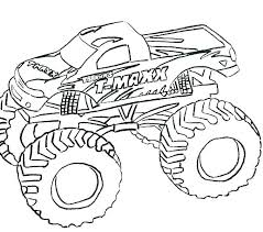 Monster Truck Coloring Pages Pdf Coloring For Babies Amvame