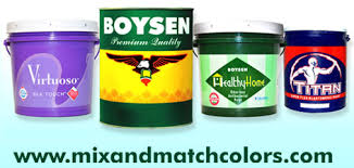 Boysen Virtuoso Color Chart Mix Match