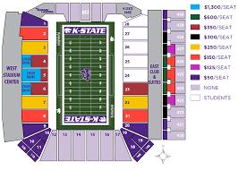 K State Football Stadium Seating Chart Football Priority Seating Ahearnfund Com