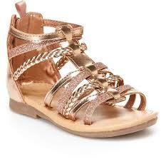 Kohls Jumping Beans Size Chart Carters Fenna Toddler Girls Gladiator Sandals In 2019