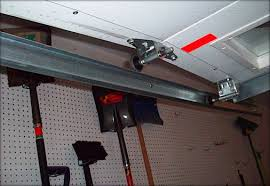 garage door tracksBent Track  Damian Douglas