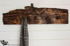 Diy Coat Rack Ideas DIY Projects DIY Railroad Spike And Wood Coat Rack Hang 'Em in 67