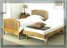 wooden daybed with trundle without wood pop up white uk