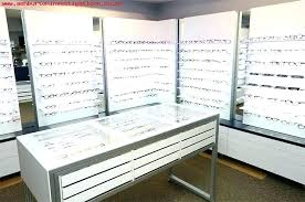 8f 5 colors luxurious leather eyeglass eyewear sunglasses display eyeglass display case eyeglass display cases for