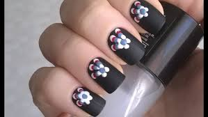 nail art good looking black nail polish on feet foot designs simple art step by