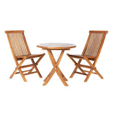 outdoor wooden bistro table and chairs all things cedar set 3 piece teak outdoor bistro set outdoor wooden bistro table