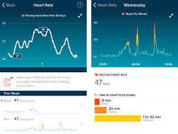Fitbit Resting Heart Rate Chart Fitbit Charge Hr Review Charge Hr Vs Charge Charge Hr