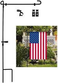 large garden flag stand 10zon