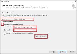 Configure Zimbra Ldap Addressbook In Outlook - Diadem Technologies ...