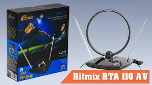 Распаковка и обзор домашней телевизионной <b>антенны Ritmix</b> ...