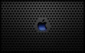 Carbon Grill Apple Logo Desktop Wallpaper