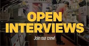 modesto open interviews