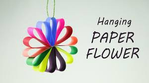 Paper Flower Garlands Diy Hanging Paper Flowers Garland For Easy Party Decorations On Budget