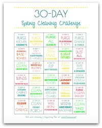 30 Day Spring Cleaning Checklist Melissa Fitzhugh