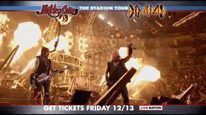 mötley crüe the stadium tour 2020