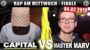 Rap Am Mittwoch Capital Bra Vs Master Marv 040215 Battlemania