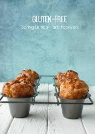 Gluten-Free Spring Lemon-Herb Popovers