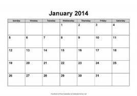 Ms Word 2014 Calendar Template 2014 Year Calendar Free Microsoft