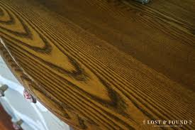 Refinish Kitchen Table Top How To Refinish A Table Top Or Dresser Part 1 Lost Found