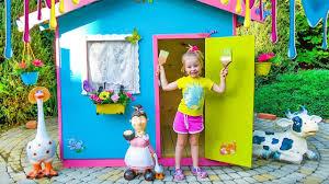 <b>Детский игровой домик</b> своими руками / Colorful playhouse for kids
