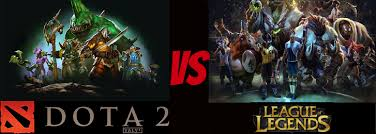 what if they made a lol vs dota 2 official game
